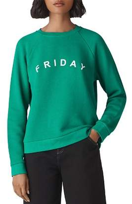Whistles Friday Raglan Sweatshirt