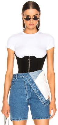 Off-White Off White Stretch Bustier