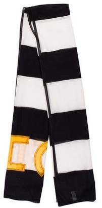 Chanel Striped Cotton Pareo Scarf