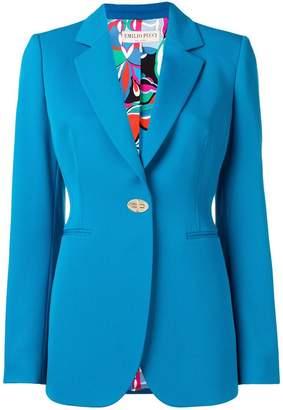 Emilio Pucci classic tailored blazer