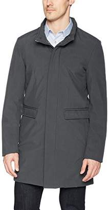 DKNY Men's Dorian Water Resistant Top Coat