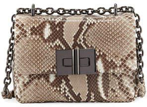 Tom Ford Natalia Python Chain Crossbody Bag