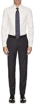 Armani Collezioni MEN'S COTTON POPLIN DRESS SHIRT