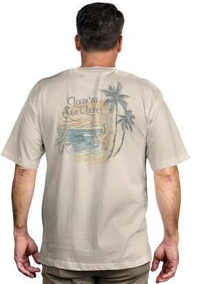 Newport Blue Men's Tropical Graphic Tee