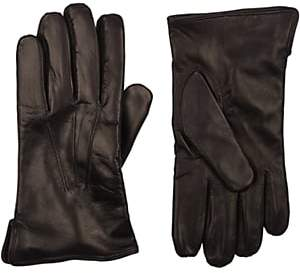 Barneys New York Men's Cashmere-Lined Gloves - Black