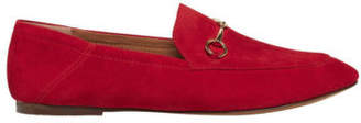 Windsor Smith NEW Dani Crimson Red Suede Loafer