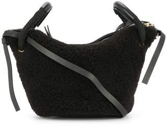 Ports 1961 faux shearling shoulder bag
