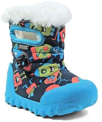 Bogs Bmoc Monsters Faux Fur Waterproof Boot (Toddler & Little Kid)