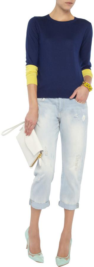 Current/Elliott The Boyfriend mid-rise jeans