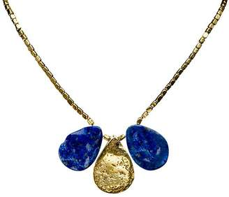 Russian Lapis with Brass Lapis Impression
