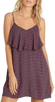Billabong Done Down Ruffle Dress