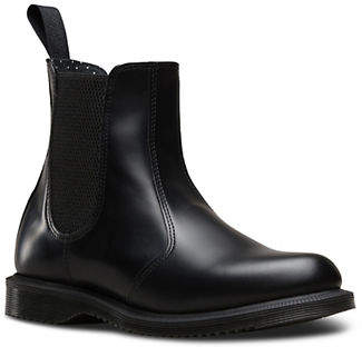 Dr. Martens Womens Flora Welted Leather Chelsea Boot