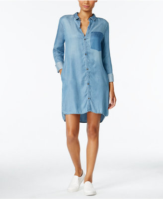 Calvin Klein Jeans Denim Shirtdress $79.50 thestylecure.com