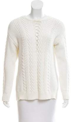 Saylor Cable Knit Long Sleeve Sweater