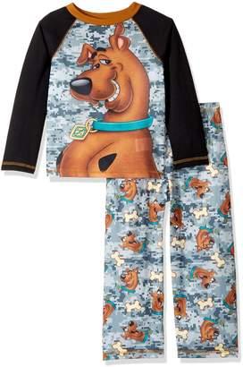 Scooby-Doo Big Boys' Scooby 2 Piece Jersey Sleep Set
