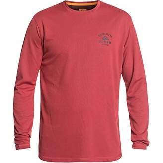 Quiksilver Men's Gut Check Ls 40+ UPF Long Sleeve Shirt
