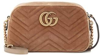 Gucci GG Marmont Small velvet shoulder bag
