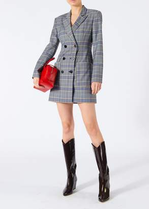 Tibi Lucas Suiting Blazer Dress
