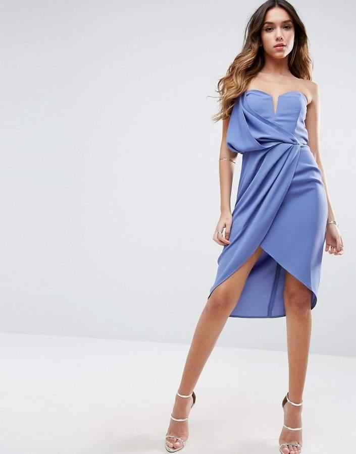 Asos Asymmetric One Shoulder Dress