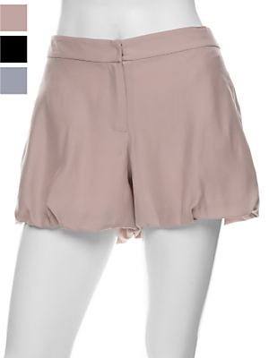Alex Lane Silk Puff Shorts