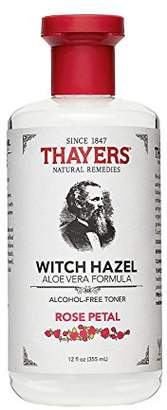 Thayer Alcohol-free Rose Petal Soothing Witch Hazel for Face & Skin with Aloe Vera