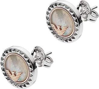 Emporio Armani Women Silver Stud Earrings EG3352040