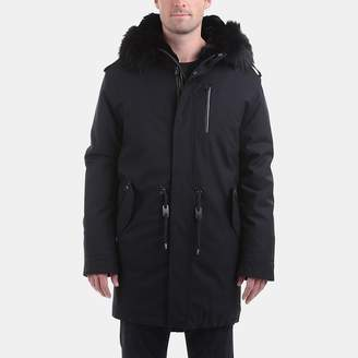 Mackage Moritz-W Wool-Flannel Parka with Fur
