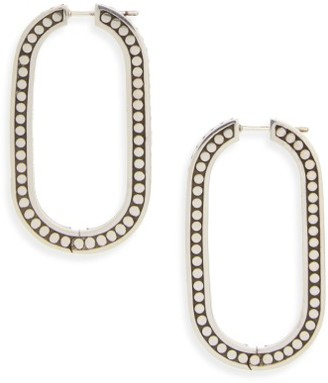 Women's John Hardy Dot Large Link Earrings $395 thestylecure.com