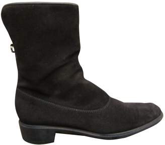 Salvatore Ferragamo Fur-Lined Boots