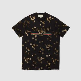 Gucci (グッチ) - スター&ムーン プリント Tシャツ
