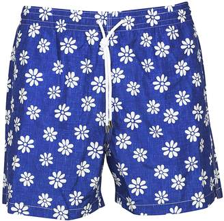 Aspesi Flower Print Shorts