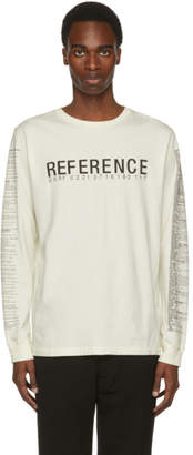 Yang Li Off-White Reference Long Sleeve T-Shirt