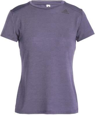 adidas (アディダス) - アディダス ジャカードパネル ストレッチジャージー Tシャツ