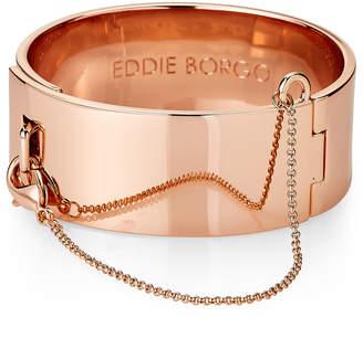 Eddie Borgo Rose Gold-Tone Safety Chain Cuff Bracelet
