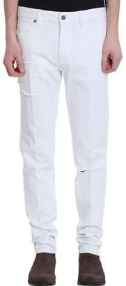 Ermenegildo Zegna White Denim Jeans