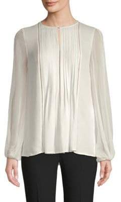 Elie Tahari Piper Silk Blouse