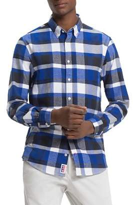 Tommy Hilfiger Lumber Jack Check-Print Regular Fit Button-Down Shirt