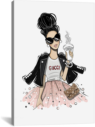 Gucci Icanvasart Coffee By Aaron Favaloro