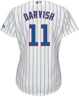 Majestic Women's Yu Darvish Chicago Cubs Cool Base Player Replica Jersey