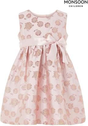 Next Girls Monsoon Baby Tallulah Jacquard Dress