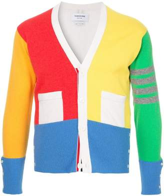 Thom Browne colourblock cardigan