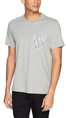 Original Penguin Men's Short Sleeve Floral Grid Pocket Tee