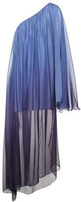 Caroline Constas Ancil silk one-shoulder dress