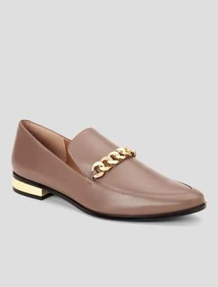 Calvin Klein fanna leather loafer
