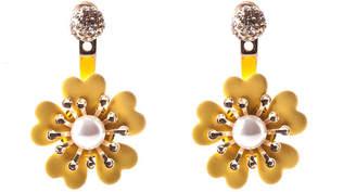 Oasis Pearl Flower Earrings