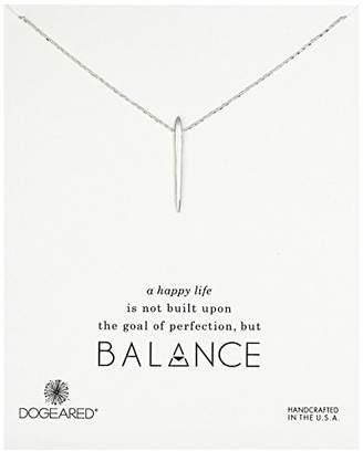Dogeared Balance Spiky Spear Necklace