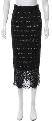 Preen by Thornton Bregazzi Lace Midi Skirt w/ Tags