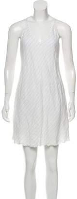 ATM Anthony Thomas Melillo Mini Sleeveless Dress