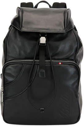 Bally Men's Leather Flap-Top Backpack