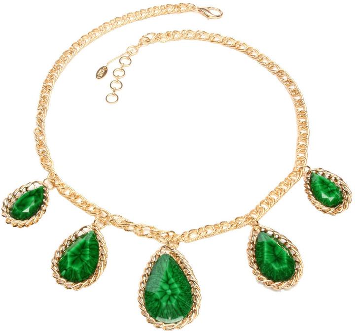 Amrita Singh Teardrop Resin Necklace